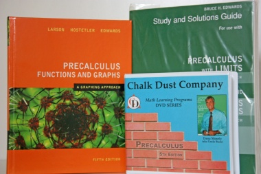 Chalk Dust Company Math Videolearning - Precalculus Course Outline